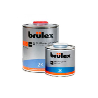 BRULEX 2K HS Прозрачный лак, комплект