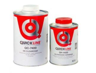 Quickline QC-7400 Прозрачный лак HS, комплект