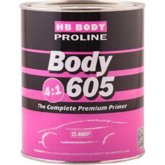 HB BODY 605 2K Грунт-наполнитель 4:1, комплек...
