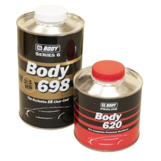 HB BODY 698 HS Лак SR 2:1, комплект