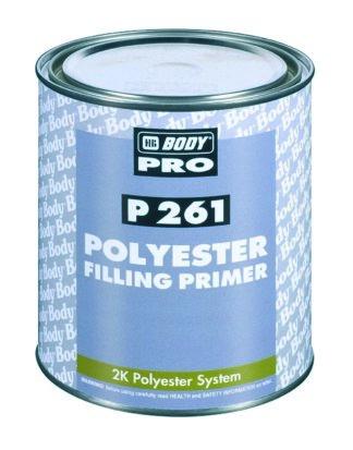 HB BODY PRO P261 2К Грунт-наполнитель полиэфи...