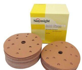 Абразивный круг Sunmight Gold 150мм 15отв
