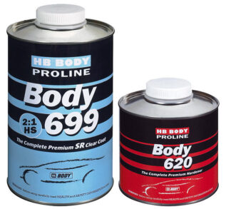 HB BODY PRO 699 Лак HS 2:1 SR, комплект
