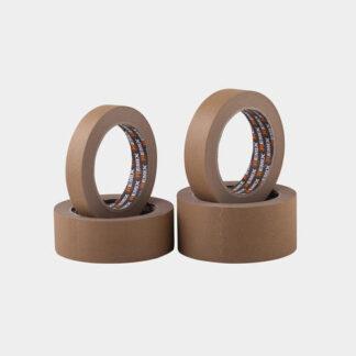 Лента малярная REMIX коричневая 80°