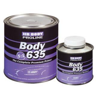 HB BODY 635 2K Грунт-наполнитель 5:1, комплек...