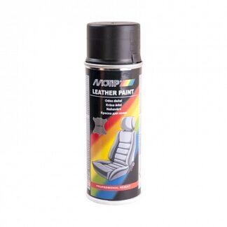 MOTIP Краска-эмаль для кожи в аэрозоле, черна...